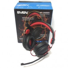 Наушники Sven AP-G888MV Black-Red